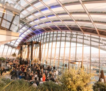 Sky Garden While Fat London
